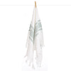 Cacala Double Side Elmas Hand Towel Green