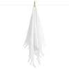 Cacala Double Side Elmas Hand Towel White