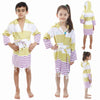 Cacala Kids Ayaz Bathrobe Green