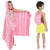 Judy Pestemal Convertible Towel/ Poncho / Bag Pack