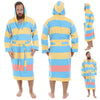 Paradise 15 Pestemal  Men's Bathrobe - pestemalcom