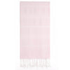 Cacala Light Pink Turkish Towel Front