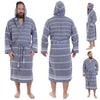 Cacala Sport Line Bathrobe Night Blue