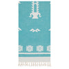 Cacala Tree Of Life Turkish Towel - pestemalcom