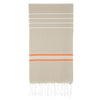 Cacala Paradise  Turkish Towel Beige Orange