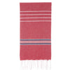Cacala Paradise  Turkish Towel Red