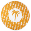 Palm Shine  Round Pestemal Beach Towel - pestemalcom