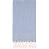 Turkish Towel Ella Grey Blue