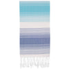 Nazar Series Multi-Purpose Turkish Towel Made From 100% Recycled Cotton 95x180 cm - pestemalcom