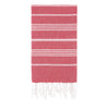 Cacala Red Turkish Towel Front