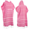 Regenerated Poncho Pure Series Fushia