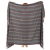 Zincir Multi Color Throw XL - pestemalcom