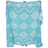 Liva Throw Aqua