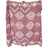 Liva Throw Burgundy
