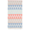 Zigzag Pestemal Grey Blue-Beige