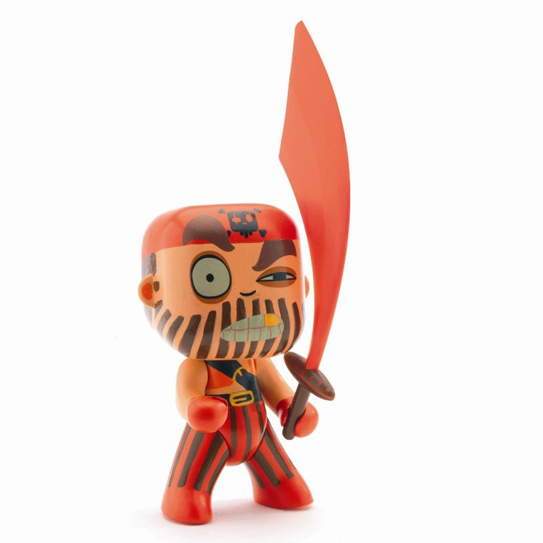 Djeco - Arty Toys - Captain Red