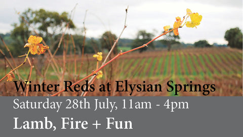 Winter Reds: Lamb, Fire + Fun @ Elysian Springs