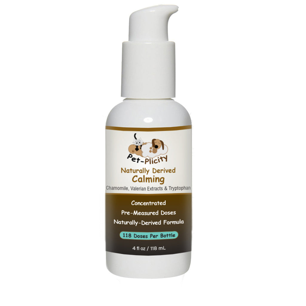 Liquid Dog Calming Supplement - Gain A Happier Dog By Reducing Separation Anxiety, Help Relieve Stress and Reduce Fear of Thunderstorms