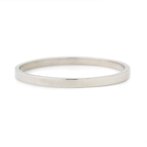 Minimalist High Polished Band