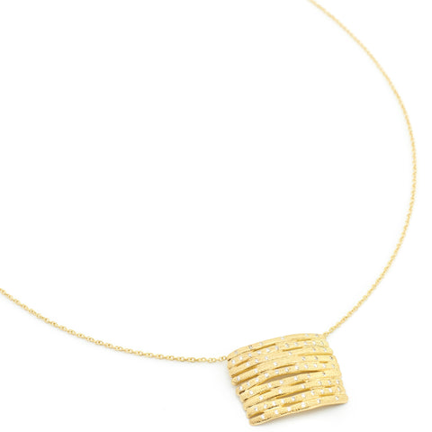 Master Horizontal Bamboo Necklace