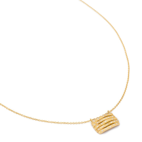 Floating Bamboo Necklace