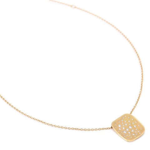 Organic Square Stardust Necklace