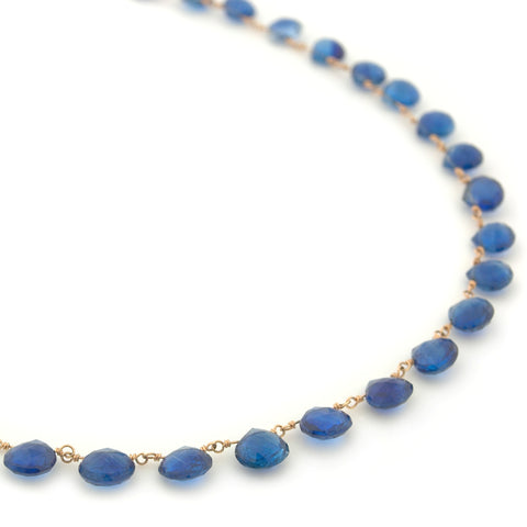 Kyanite Briolette Necklace