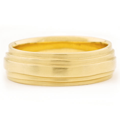 Women's Gold 'Wrap' Band