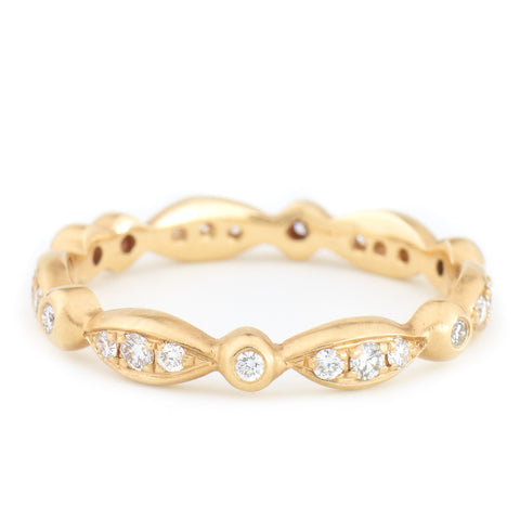 Marquise Pave Band