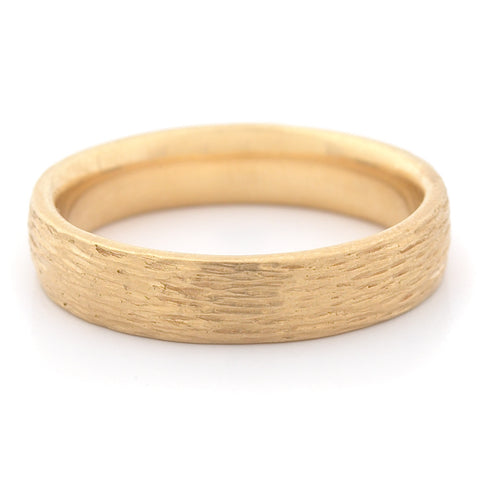 Men's Medium Bark Finish Band