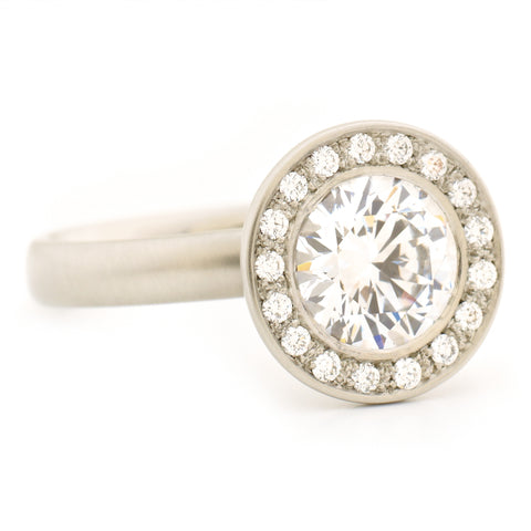 The Martini Engagement Ring