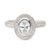 Contemporary Bezel Set Engagement Ring