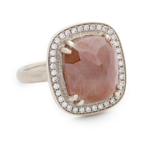 One of a Kind Toffee Brown Diamond Ring