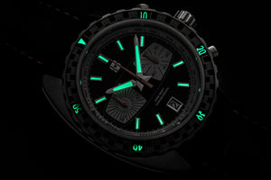 Straton watch lume shot