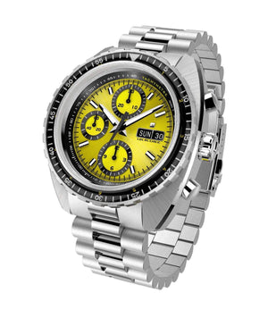 Racing wrist watch