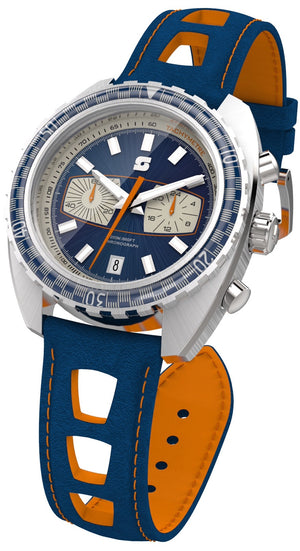 Racing chronograph watch