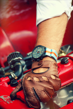 Vintage Driver Chrono watch