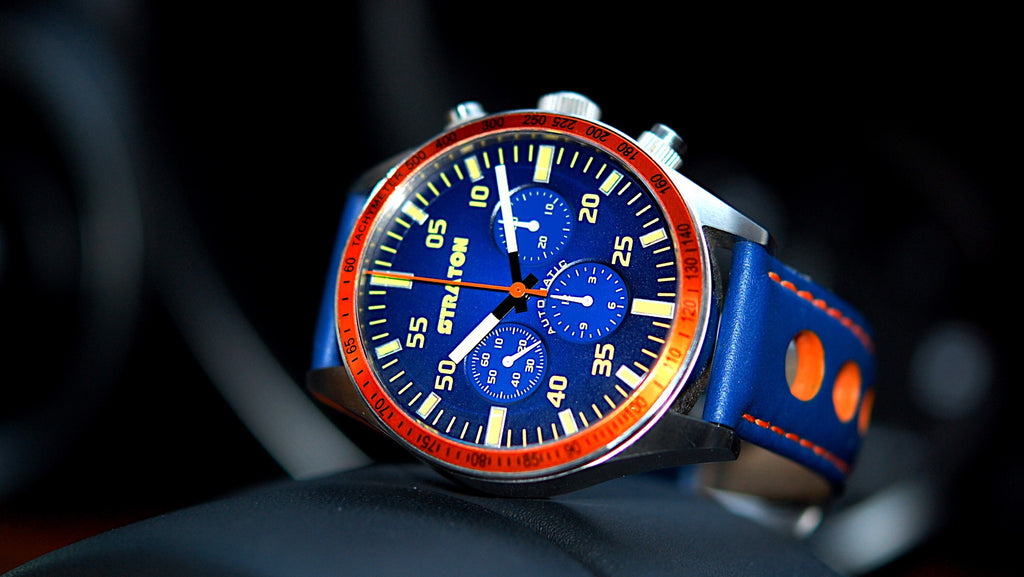 Automotive inspired watches