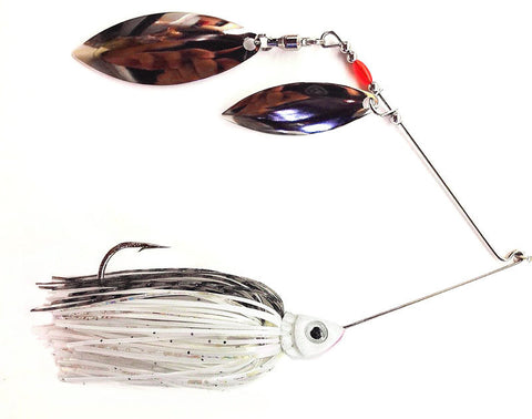 "Fierce Spinnerbait ""Albino"" Shad"
