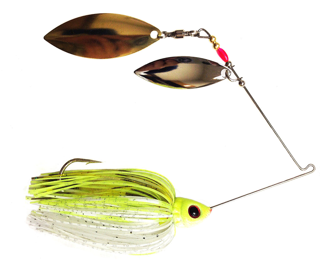 "Fierce Spinnerbait ""Chartreuse & White"""