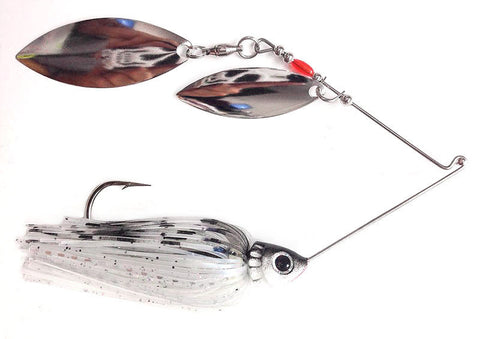 "Fierce Spinnerbait ""Cooper's Ghost"" Shad"