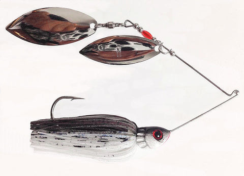 "Fierce Spinnerbait ""Gizzard"" Shad"