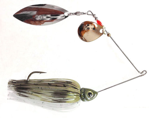 "Fierce Spinnerbait ""Olive Juice"" Minnow"