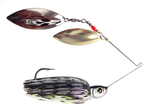 "Razor Spinnerbait ""Smokey Threadfin"" Shad"
