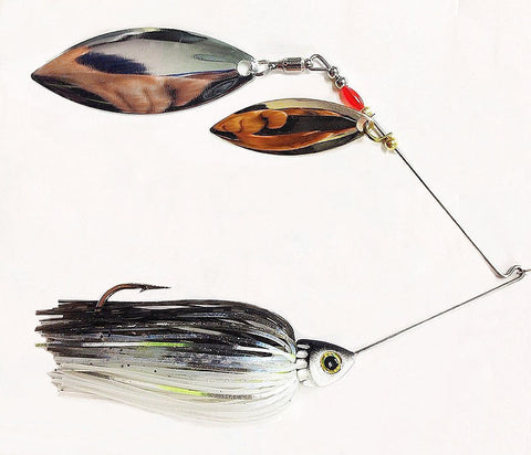 "Fierce Spinnerbait ""Threadfin"" Shad"