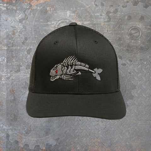 Flexfit Trucker Hat Black