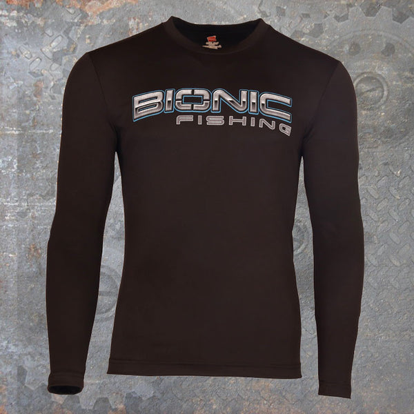 Dri Cool Performance Long Sleeve Black