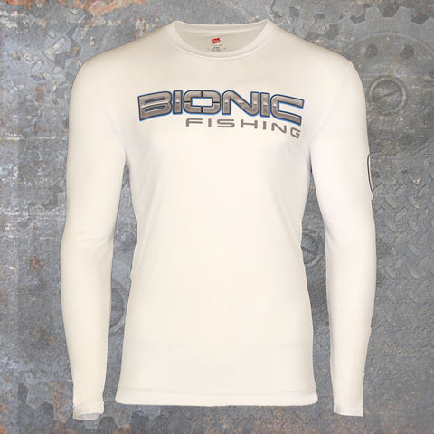 Dri Cool Performance Long Sleeve White