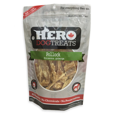 Hero Pollock Dog Treats