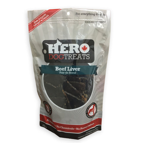 Hero Beef Liver Dog Treats